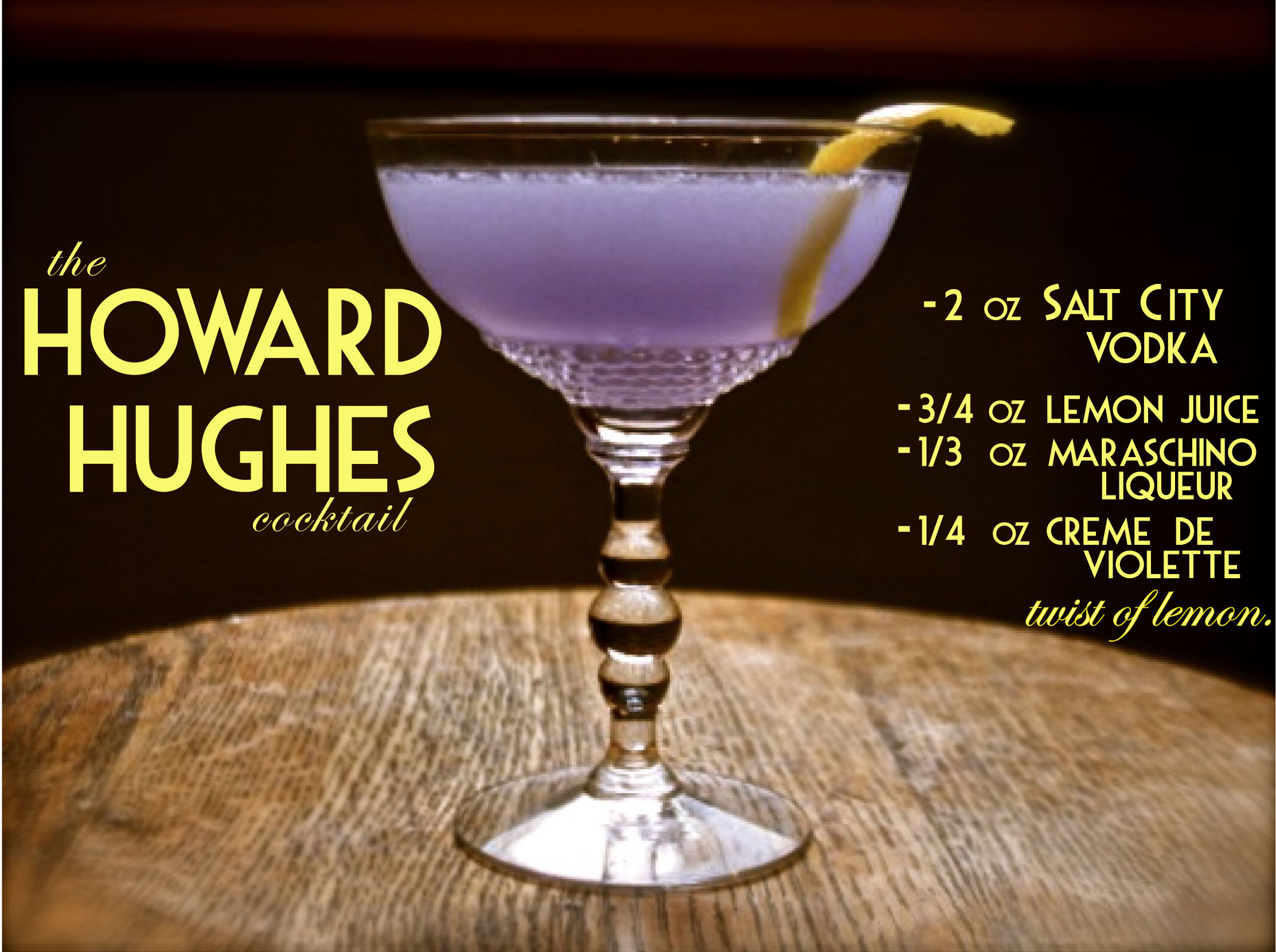 Howard Hughes Cocktail
