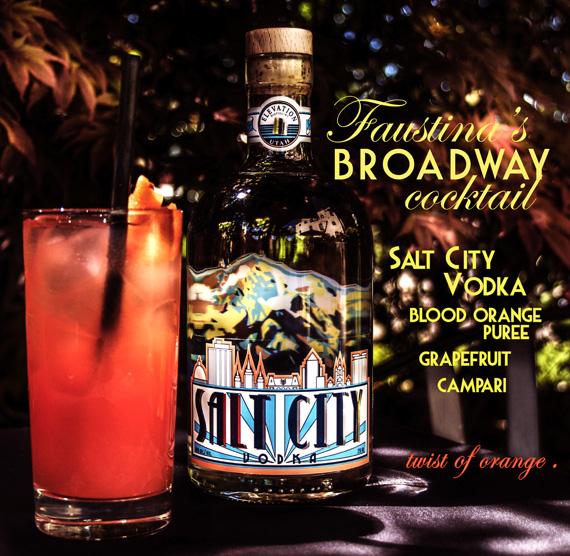 Faustina Broadway Cocktail
